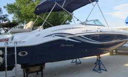 Basic Information Year: 2014 Make: Hurricane Model: 2600 IO VIN: Condition: Used Type: Deck Use: Fresh Water VIN Number: Engine Engine Type: Single Inboard/Outboard Engine Make: Mercruiser Engine Model: 350 Mag Primary Fuel Type: Gas Belts Pump