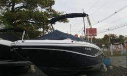 NEW INVENTORY 2014 Hurricane SS 220 OB This 2014 Hurricane SS 220 is in great shape w/ warranty on the Yam 200 hp motor til 03/31/21! This boat comes w: Yamaha 200XB w/ low hours & warranty til 03/31/21 Bimini Top Full Boat Cover Dual Battery w/ Switch