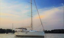 Designed by the famous Marc Lombard, the Sun Odyssey 379 has proven to be a highly popular performance cruiser. Special attention was given to the ease of sail handling, and modern aesthetics. Southern Cross is a superb example of the winged,