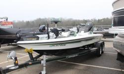 PRICE REDUCED!!! 2014 Legend Marine Alpha 199 The first Alpha boat to ever hit the water, the Alpha 199 redefined bass boat design. This boat encompasses enormous fishing decks, oversized storage compartments, massive rod lockers with a standard 14-rod
