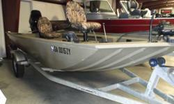 YOUR PRICE INCLUDES: 2013 MERCURY 40 ELPT, 2014 KARAVAN TRAILER W/SWING TONGUE GALVANIZED, MOTORGUIDE PRO 54TM, LOWRANCE X-4 PRO, LOWRANCE ELITE 4 XDSI, ROD HOLDERS Get ready for a major haul: the Stryker 16 SS is perfectly equipped to get on the fish.