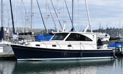 This very clean and well equipped popular Mainship has just been taken on trade as the owners are moving up into a New Yacht. The classic lines and spacious salon makes for a great Bay boat and beyond. Very impressive how the designers fitted in a two
