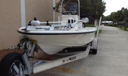 """Experience the new way to conquer the bays! The rugged, all-new MAKO 21 Light Tackle Skiff brings the award-winning hull design of the MAKO 18 LTS to inshore anglers who require a larger fishing platform. With a massive 8' 4"""" (2.54 m) beam, this boat"""