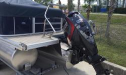 Brand new 2014 Manitou 25 Legacy VP Standard powered by Evinrude 150HO.Load with options including: GPS, complete bow to stern flooring, bimini top, saltwater package, Polk stereo. Spoil yourself with the Manitou Legacy. Our defining model, the