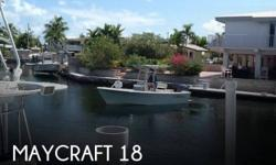 Actual Location: Big Pine Key, FL - Stock #101080 - If you are in the market for a fishing boat, look no further than this 2014 Maycraft 1900CC, just reduced to $27,500.This boat is located in Big Pine Key, Florida and is in great condition. She is also