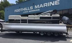 2014 Misty Harbor Boats CR 225 22' Misty Harbor 225CR Pontoon WIth A Yamaha F90LA EFI 4 Stroke  Misty Harbors Adventure Cruisers are the perfect blend of quality, pleasure, and value. Dressed with contemporary graphics, your choice of six different