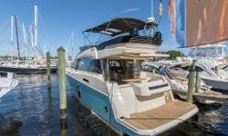 *** OUR TRADE ***  This beautiful Monte Carlo 5 was traded in for her big sister, the MC6. She is extremely well equipped and ready for her new owner. We have just completed a full engine service, added a new bimini top, replaced the salon
