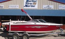 2014 Monterey 196 MSon the Florida / Alabama Gulf Coast.  This is a 1-owner, pre-owned 2014 Monterey 196MS with only 30 hours on the Mercruiser 4.3L TKS engine. This boat is equipped with a battery switch, bimini top, bow and cockpit covers, a