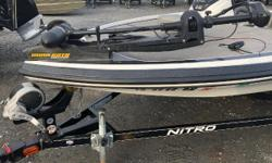 "Nimble performance meets tournament features! The NITRO® Z-6 is much more than an ""entry-level"" fiberglass bass boat. In fact, it has much more in common with its larger siblings in the Z-Series than it does with other boats in its size class, including"