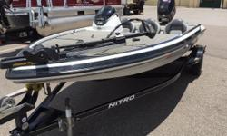 2014 Nitro Z6 with 115HP Mercury motor and custom trailer Nominal Length: 18' Length Overall: 1' Engine(s): Fuel Type: Other Engine Type: Outboard Beam: 1 ft. 0 in. Stock number: 1002558