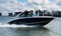 Regal created a whole new category with the introduction of the 3200 Day Yachting. Yacht amenities combined with seating and lounge space for up to 18 its the perfect platform for big water, big crowds and the best of open entertaining. So, if youre