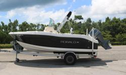 Looking for that hard to find late model Robalo R180 with low hours, you just found the best deal out there. This is a 2014 Robalo R180 with a Yamaha F115 four stroke engine with very low hours. The boat includes electronics, bimini top, and live well.
