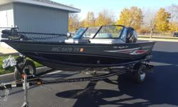 We've just acquired this near-to-new Smoker Craft 162 Pro Angler XL on trade. Lightly boated and superbly cared for, the 162 is packed with fishing features and powered by a Mercury 75 HP (just 35 engine hours!) 4-stroke. Includes Minn Kota, full cover,