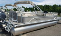 2016 Sunchaser 8522 Cruise Less than 1 years old with less than 15 hours 115 Yamaha like new condition Trailer available Top ranked pontoon Swim ladder Swim platform Used in fresh water Boat cover Unit is located in Aitkin MN. Financing Nationwide