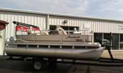 THE GREAT OUTDOORS MARINE - THE FUN STARTS HERE! 2014 SWEETWATER SUNRISE 186 F  2014 HONDA 9.9HP 4-STROKE OUTBOARD 2014 TENNESSEE SINGLE AXLE TRAILER Full vinyl floor 3 fishing seats 1 livewell Half gate on bow 2 storage boxes on bow Sony CD/AM/FM