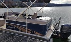 STOCK LIMITED 2014 Sweetwater SW 2086 Nominal Length: 20.3' Length Overall: 20.1' Engine(s): Fuel Type: Other Engine Type: Outboard Beam: 8 ft. 6 in. Fuel tank capacity: 21