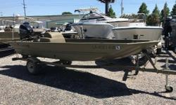 WARRANTY AVAILABLE 2014 Tracker Grizzly 1648 SC Marrero, LA The TRACKER GRIZZLY 1648 SC is rated for up to 50 horsepower and sports a conveniently placed side console to maximize interior room. Youve got plenty of power and space to take your buddies and