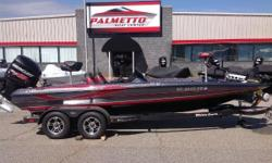 REDUCED PRICE 2014 Triton Boats 20 XS The 20XS is the choice for bass fishing's superstars nationwide. It is big enough to take on vast lakes and broad enough to fish two anglers in comfort up front.  Mercury 250 Pro XS w/ 168 hours Warranty through