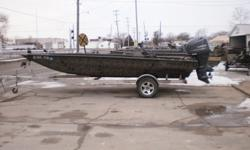2014 Xpress HD20DDP boat on a Back Track aluminum trailer with a F115 Yamaha four stroke. The boat has factory upgrades that include camo, spray in liner, lights and steering console. The engine has a SS prop and has factory warranty thru 03/27/2019 Beam: