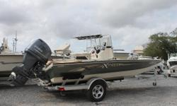 Location: Marrero, LA, US Good as new 2014 Xpress 20' Bay Boat Boat is in showroom condition, under 100 hours on boat/motor Equipped with Minn Kota trolling motor, Hummingbird GPS/fish finder, jump seats, and bimini top. This boat is ready to hit the