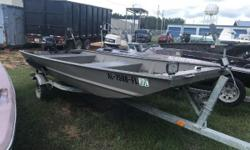 GREAT DEAL! 2014 Xpress Boats Recreational & Livewell Series 1546 GREAT HUNTING BOAT! Financing Available! Easy online application process, apply online today! Come with Galvanized Trailer! Xpress Jon Boats roots run deep with its ancestry being the