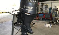 For sale is a 2014 Yamaha F50LB Outboard motor. This motor runs and sounds great! There are 11 total hours on the motor. The warranty is still good until 2021! It comes with an aluminum prop. 20 inch shaft length. PID- 6C1-L-1058225. Thank you!