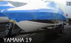 Actual Location: Brighton, MI - Stock #099188 - Treat Your Family to the #1 Selling 19-Foot Recreational BoatThe Yamaha SX190 is a great boat delivering fun on the water! The SX190 provides a superior jet power experience. Driven by a reliable, low