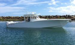 100 hrs. maintenance done in May 2016. Engines Warranty until 2022 35,000 Price Reduction The 42 Yellowfin's is there flagship boat, offering all the amenities for either fishing or cruising.  There construction philosophy results in a perfectly