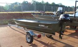 2015 ALUMACRAFT 1232 PERFECT FOR SMALLER HP RESTRICTED LAKES AND PONDS! 2008 MERCURY 3.5 TILLER. Nominal Length: 12' Engine(s): Fuel Type: Other Engine Type: Outboard Stock number: CATES