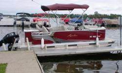 This boat has been in our rental fleet this year. It is powered by a Mercury 50hp CT four stroke motor. These Luxury Super Compact fishing models are the answer to your fishing dreams! These inexpensive easy to trailer models offer more comfort and