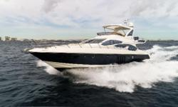 $275,000 In Price Reductions - Best Priced 2015 In The USA 2015 Azimut 64 Flybridge Immaculate Condition - Must Go Caterpillar Warranty Through 2020 Blue Steel Metallic Hull Caterpillar C18 ACERTs - 1150 HP - 205 Hours SeaKeeper Gyros KVH HD
