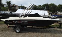 This boat is showroom ready. Always dealer maintained. Buy with confidence. Have fun with the whole family. Kept on a small private lake never really run hard. Trades considered. CANVAS BIMINI TOP BOW COVER (BLACK) DECK SKI TOW TOWER ELECTRICAL 12 VOLT