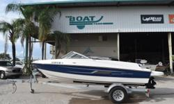 2015 Bayliner 185 BR, WAS $18,995 NADA 22KContact Logan at: 337-380-1566 BoatyardLogan@gmail.comWe offer competitive financing and take trades!2015 Bayliner 185 BRMercruizer 4.3 I/O with 35 hours and extended until 3/20222015 Single axle trailer Nominal