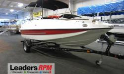 2015 Bayliner 195 Deck Boat NICE 2015 BAYLINER 195 DECK BOAT WITH ONLY 38 ENGINE HOURS!   A 220 hp Mercruiser 4.3L MPI (multi-port injected) V6 engine powers this loaded fiberglass deck boat. Features include:  factory snap-on mooring