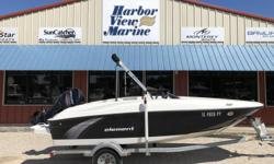 *** Stock # 5454** 2015 Bayliner Element E 16 Mercury 60hp Big foot** Galvanized Trailer w/ Swing tongue** Stereo** Bimini w/boot Engine(s): Fuel Type: Gas Engine Type: Outboard Quantity: 1 Beam: 7 ft. 5 in.