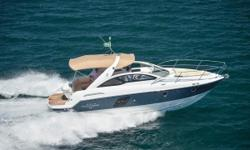 ($10,000PRICE REDUCTION FOR THE PALM BEACH BOAT SHOW) This35 Gran Turismo features an open and more spacious cockpit with seating for 8-10. She is built on Beneteau'spatented hull design, air step. The air step gives the 35 GT an