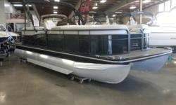 2015 Bennington G22 & 150HP Mercury 4-Stroke EFI. Motor Runs Great! This Bennington Pontoon Features The Upgraded Elliptical Performance Floats With Lifting Strakes, Cushioned Woven Vinyl Flooring Throughout The Pontoon, Front Lounge/Bench Seating Rear