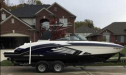 (ORIGINAL OWNER) NICELY OPTIONED AND LIGHTLY USED 2015 CHAPARRAL VORTEX 243 VRX OFFERS AN EXCELLENT CONSIDERATION -- PLEASE SEE FULL SPECS FOR COMPLETE LISTING DETAILS. LOW INTEREST EXTENDED TERM FINANCING AVAILABLE -- CALL OR EMAIL OUR SALES OFFICE