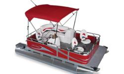 Gillgetter Compact Pontoon Boats have been hitting the water for over 22 years and have earned a reputation for quality and dependability. They are thoughtfully engineered to maximize space and functionality in a small pontoon boat. Featuring heavy-duty