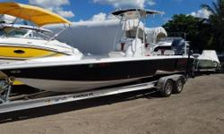 Available in Fort Lauderdale MULTI-PURPOSE FISHING BOAT - AVAILABLE NOW! The Glasstream 260 TE sets the standard in performance flats and inshore fishing boats. The third- generation stepped hull brings performance and handling to this multi-purpose