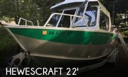 Actual Location: Sterling, AK - Stock #109998 - If you are in the market for an aluminum fish, look no further than this 2015 Hewescraft 220 Ocean Pro, just reduced to $75,995 (offers encouraged).This boat is located in Sterling, Alaska and is in great