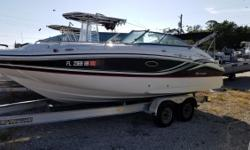 Located in Melbourne but can be delivered from both locations. Come on by! 2015 Hurricane 2200 Sundeck boat power by a Yamaha F200. This great boat can be towed and launched easily. Great starter boat for a family who wants to get on the water. Extras