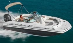 Located in Melbourne but can be delivered from all locations. Perfect family fun boat and easy to tow. Blue and white colors. Photos to follow. The SunDeck 187 OB will help you make the most of your day on the water with the perfect blend of versatility,