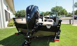 New 2015 Lund 1875 Crossover XS with Mercury 150 XL 4 stroke and custom Shorelander bunk trailer with swing tounge and brakes. Options include airride pedestal upgrade, bow deck extension, sport top with walkway curtain, Chrome Lund on freeboards, Seastar