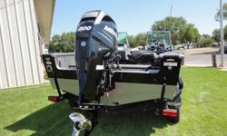 New Lund 1975 Pro V IFS/SE with Mercury 200hp XL Verado L4, custom Shorelander bunk trailer, hydraulic steering, premium snapless travel cover, snap in carpet, and bow bait station. In stock-Arctic White or Black Hull color: Black Standard features: Some