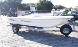 """Smooth and stable, agile and able. This is the skiff that everyone is talking about. Thanks to the Advanced Inverted V hull design, the Pro 17 Skiff CC rides smooth and drafts shallow (just 8""""/20 cm), making it ideal for both skinny inshore marshes and"""