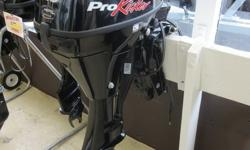 STOCK LIMITED 2015 Mercury Marine 9.9 hp ProKicker Great Remote Kicker Motor On sale now only one left These great engines start easy, are incredibly responsive, and are the lightest engines in their class. These engines are portable, simple and easy to
