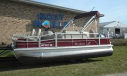 2015 Misty Harbor 20' Pontoon & 70HP Yamaha 4-Stroke EFI. Motor Runs Great! This Misty Harbor Pontoon Features, 25'' Diameter Pontoon Floats, Two Comfortable Front Swivel Seats, Wrap Around Bench Seating With Storage, Two Rear Swivel Seats, Rear Live