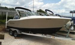 Coming from the roots of a pleasure boat bow rider with a off shore hull the 2000XSDC not only is a great pleasure boat but it also is a great fishing boat due to its XS style open cockpit with walk through transom door, fold down bench seat and location