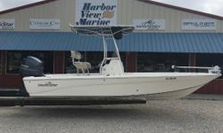 Harbor View Marine in Pensacola, FL brings you this slightly used 2015 Nautic Star 2110 Sport Bay. Powered by a Yamaha 150 and loaded with extras! T-Top, iPilot remote control Trolling motor, Flush mounted Lowrance Elite 7 combo unit, ladder, deluxe